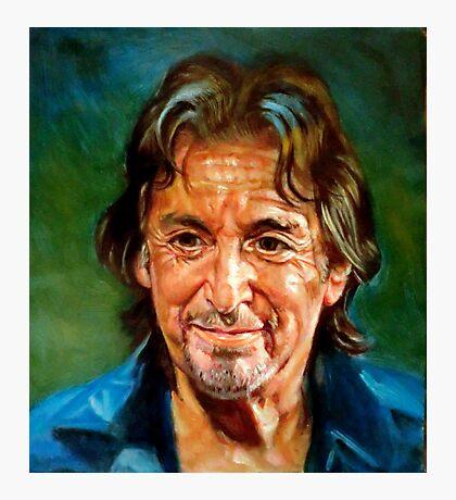portrait of Al Pacino Photographic Print