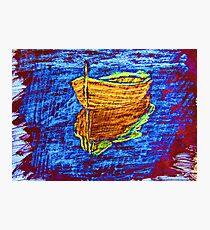 """Blue Daze"" by Carter L. Shepard Photographic Print"