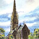 "The ""Marble Church"" Bodelwyddan, Wales. by Martin Kirkwood"
