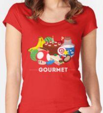 Gourmet - Video Game Food Tee Women's Fitted Scoop T-Shirt