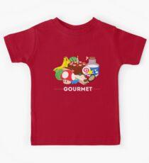Gourmet - Video Game Food Tee Kids Tee