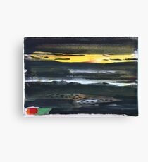 Dark Landscape Canvas Print