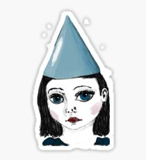 Lonely Girl has a party Sticker