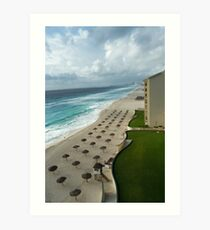 Cancun, Mexico Art Print