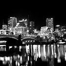 Princes Bridge, Melbourne by Engagephotos23