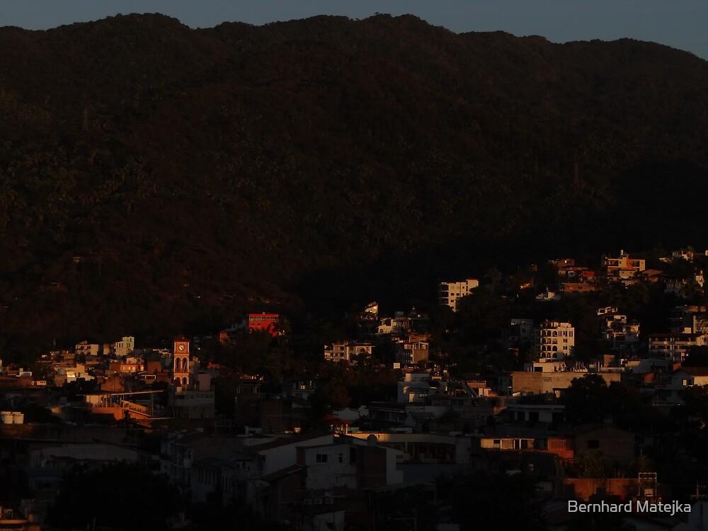 sunset at the sierra madre occidental - puesta del sol... by Bernhard Matejka
