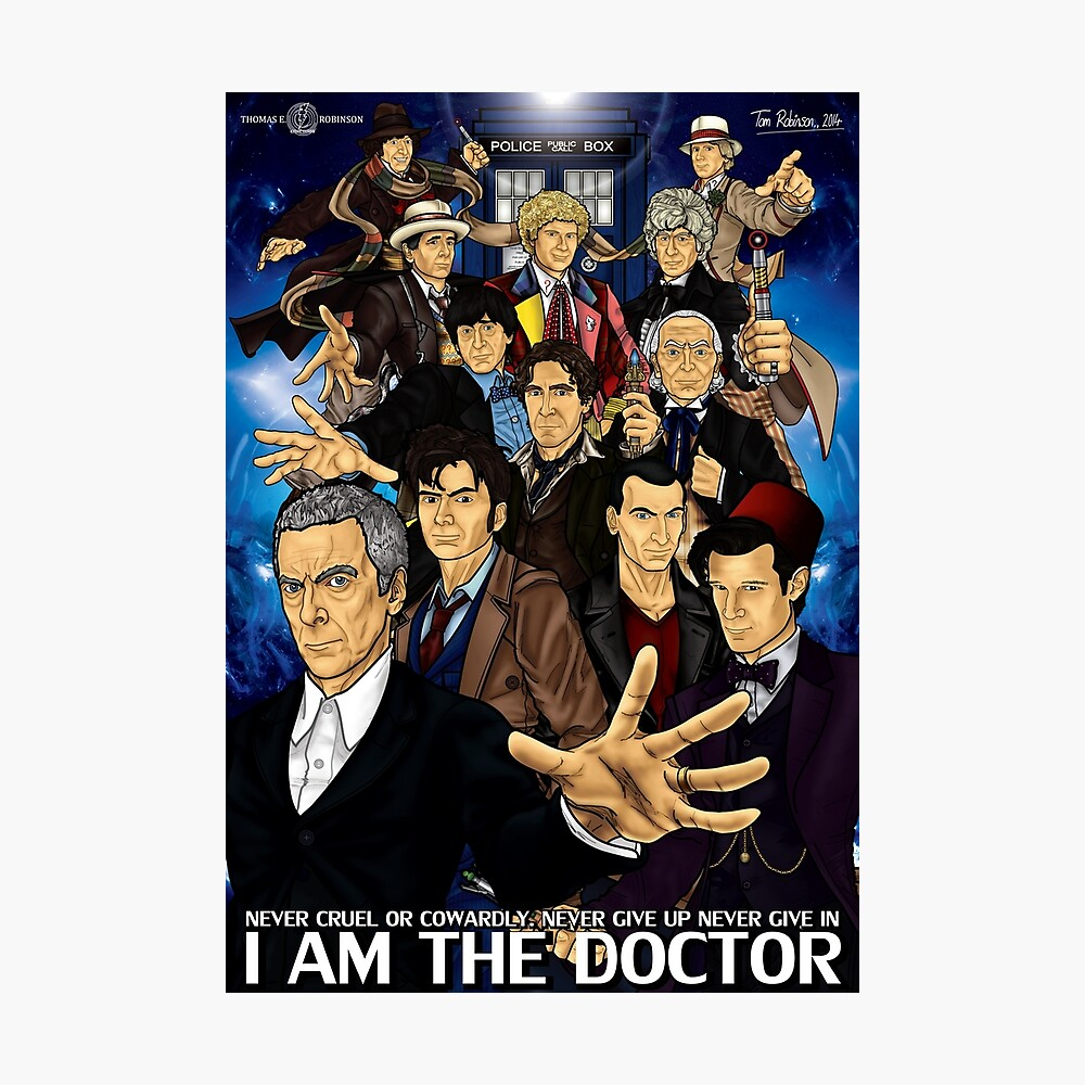 The 12 Doctors Photographic Print