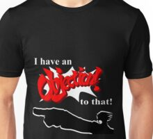 Ace Attorney OBJECTION! Unisex T-Shirt