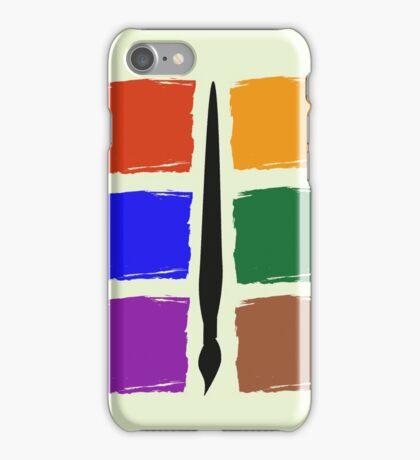 Six Colour Pallet Phone Case iPhone Case/Skin