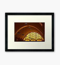 Reims Market, Marne, France Framed Print