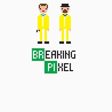 Breaking Pixel by Untitledemz
