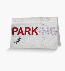 Why Park when you can Swing? Greeting Card