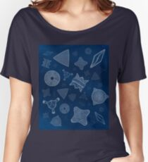 Diatoms - microscopic sea life Women's Relaxed Fit T-Shirt