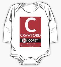 Retro CTA sign Crawford One Piece - Long Sleeve