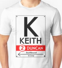 Retro CTA sign Keith T-Shirt