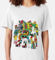 Ehecatl Quetzalocoatl Slim Fit T-Shirt