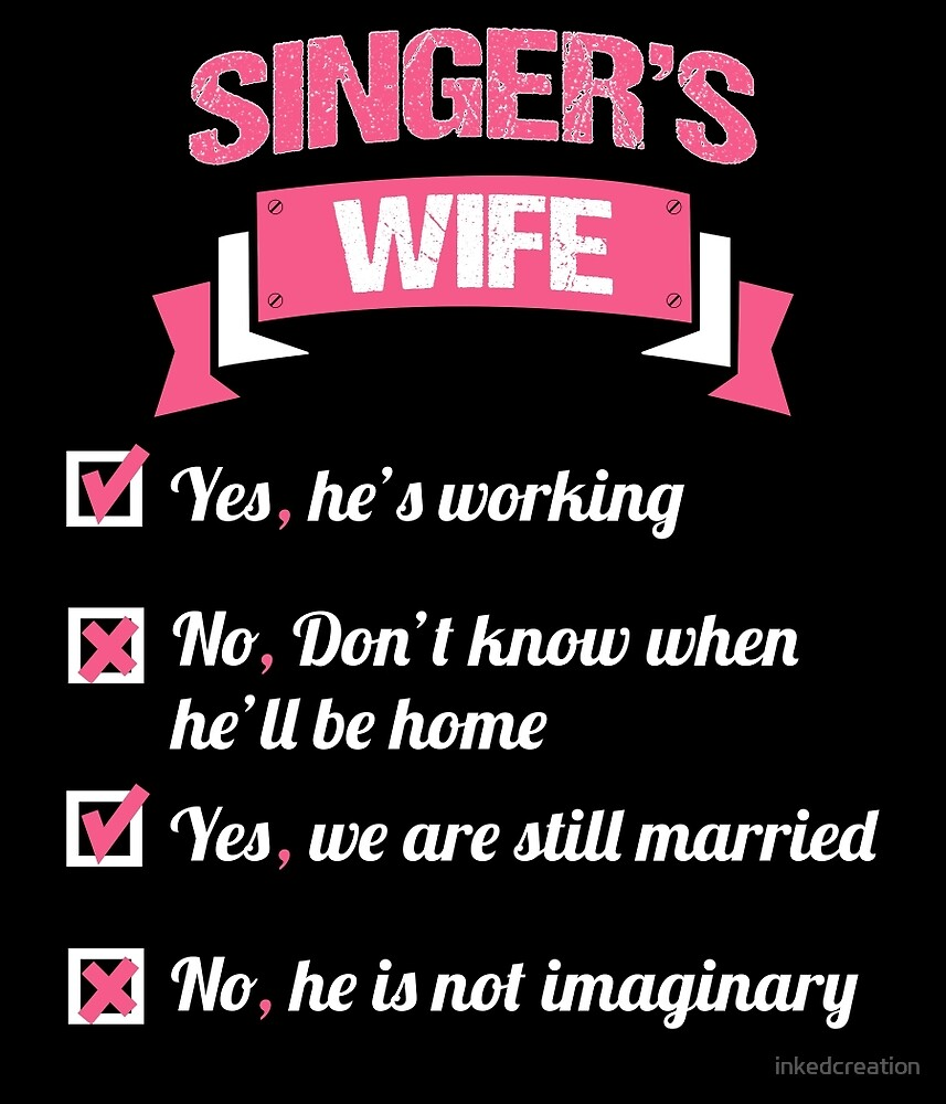 SINGER'S WIFE by inkedcreation