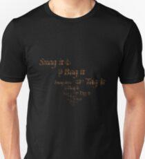 Warehouse 13 - Snag it, Bag it, Tag it Unisex T-Shirt
