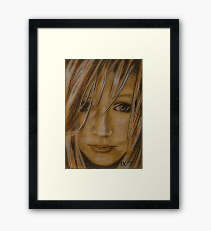 Beautiful Stranger Framed Print
