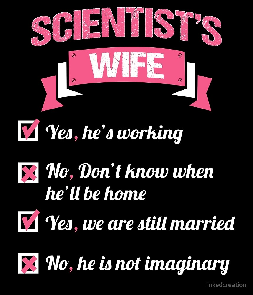 SCIENTIST'S WIFE by inkedcreation