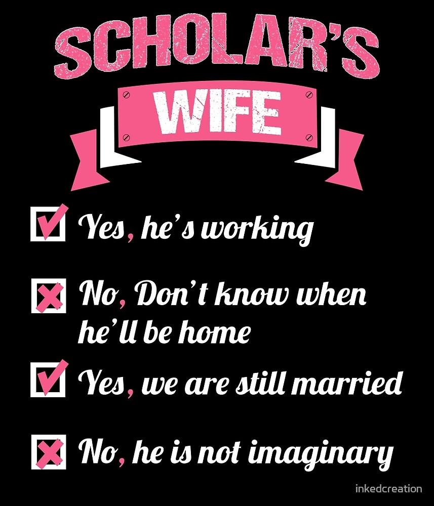 SCHOLAR'S WIFE by inkedcreation