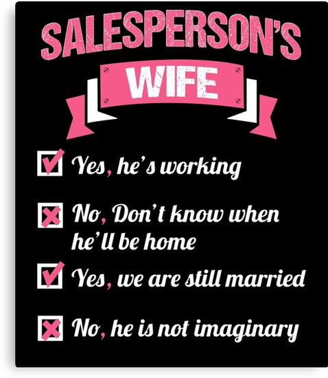 SALESPERSON'S WIFE by inkedcreation