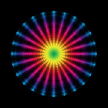 Rainbow Coloured Wheel by EonEnt