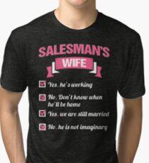SALESMAN'S WIFE Tri-blend T-Shirt