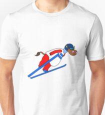 Ski Jump Cow T-Shirt