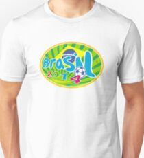 Brasil 2014 Soccer Football Ball Unisex T-Shirt