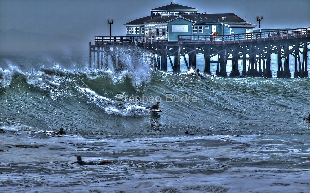 At the Pier by Stephen Burke