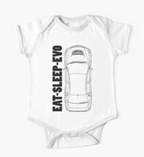 Mitsubishi Evolution Kids Clothes