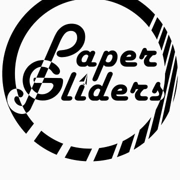 Paper Gliders (Black Design #2) by vaughnchung18