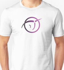 Invisible Pink Unicorn Slim Fit T-Shirt