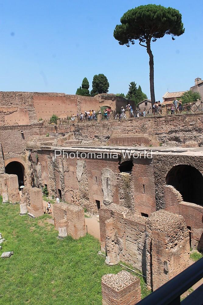 Roman Ruins by Katherine Hartlef