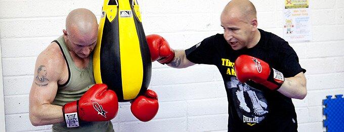 Boxing workout by fundrasingfight