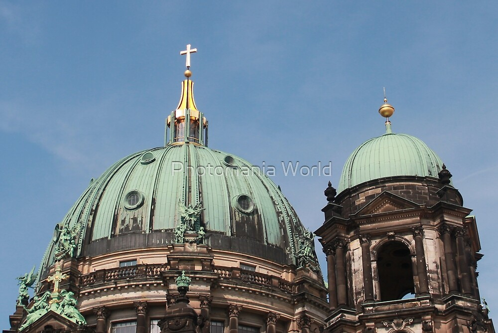 Berlin Church by Katherine Hartlef
