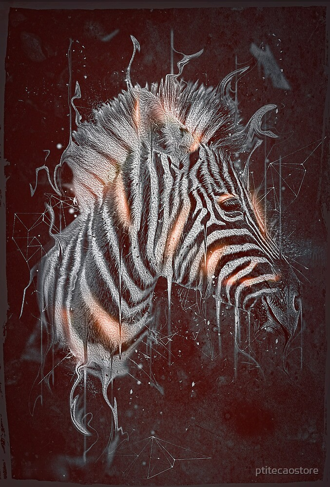 DARK ZEBRA by ptitecaostore
