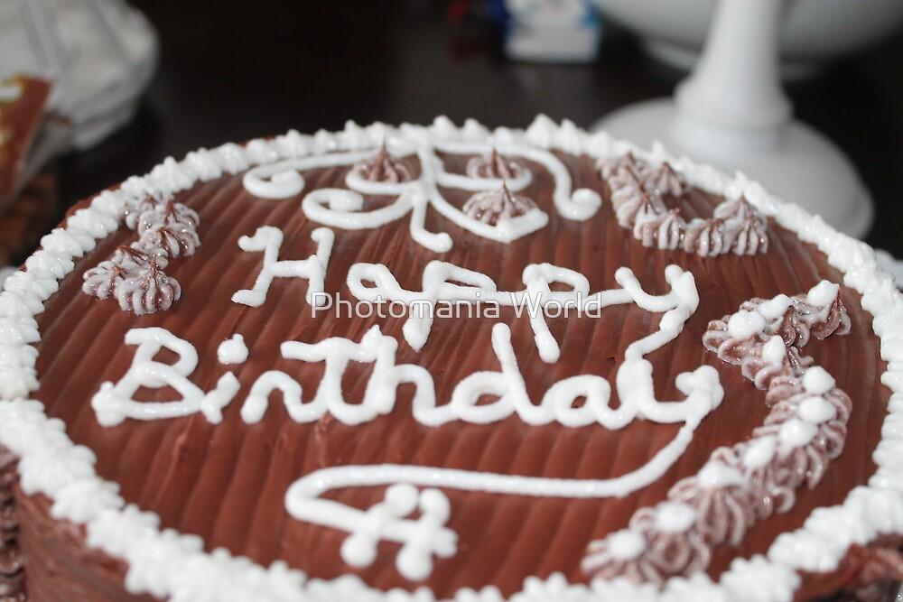 Chocolate cake by Katherine Hartlef