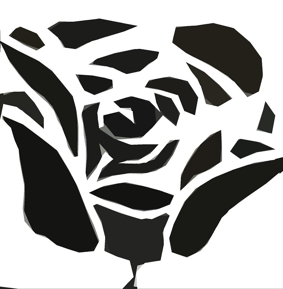 Tribal Rose by Hacksaw