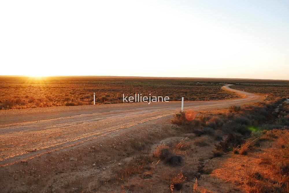 Desert Sunset by kelliejane