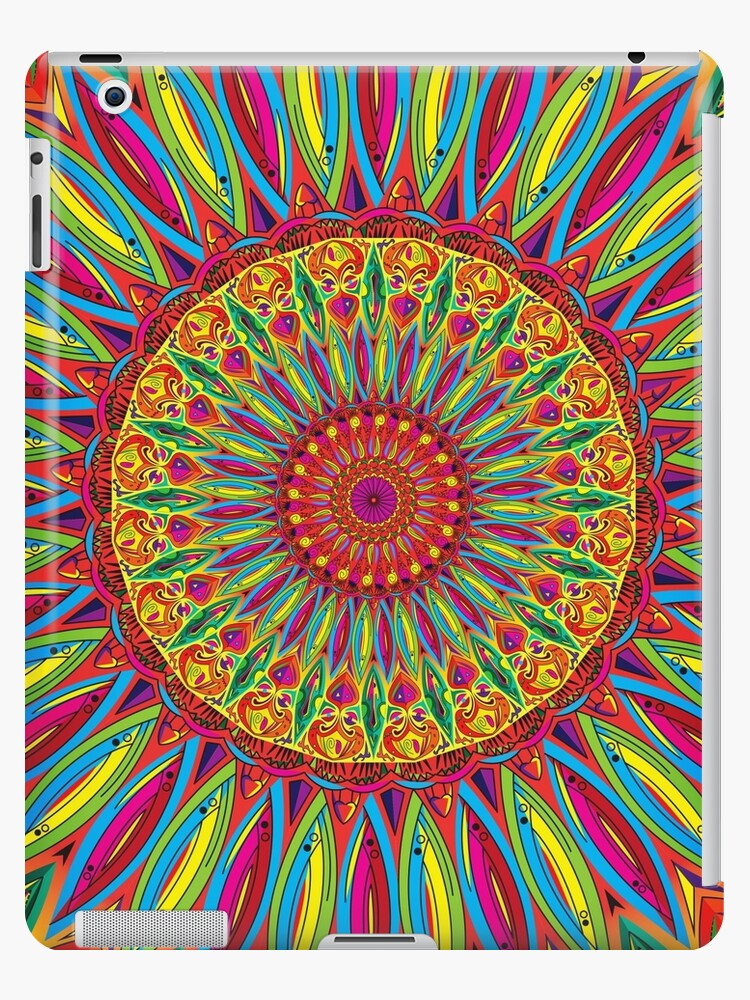 Colorful Mandala #1 by yuvalezov