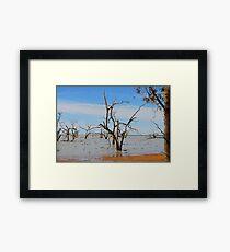 Menindee Lakes Framed Print