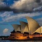 Sunset over an Icon ( Sydney Opera House) by Andrew Prince