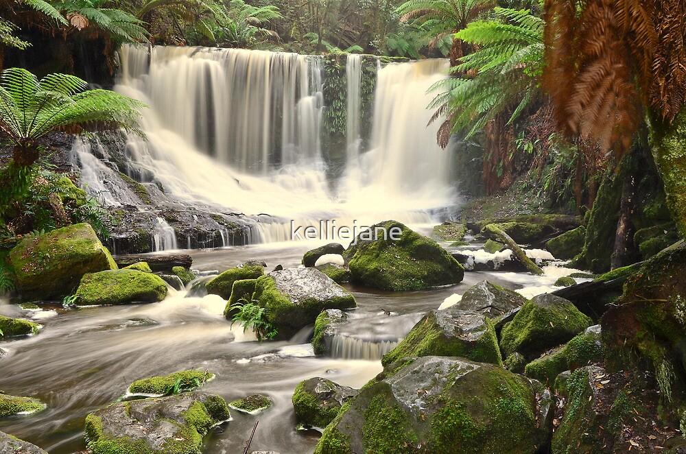 Waterfalls - Blue Mountains by kelliejane