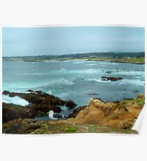Scenic Monterey Peninsula 17-mile Drive Poster
