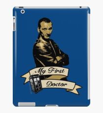 Doctor Who - My first Doctor (Who) Ninth 9th Christopher Eccleston iPad Case/Skin