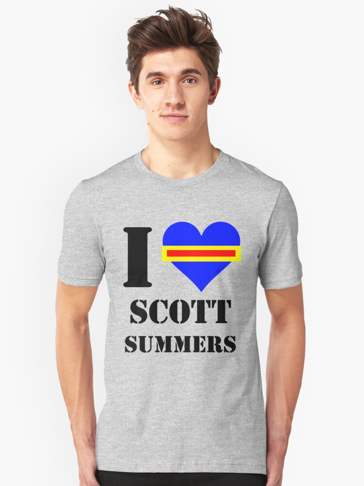 I Love / Heart Scott Summers by Pikachunicorn
