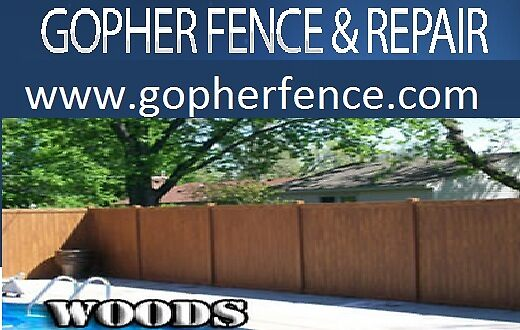 Galvanized Chain Link - gopherfence.com by gopherfence