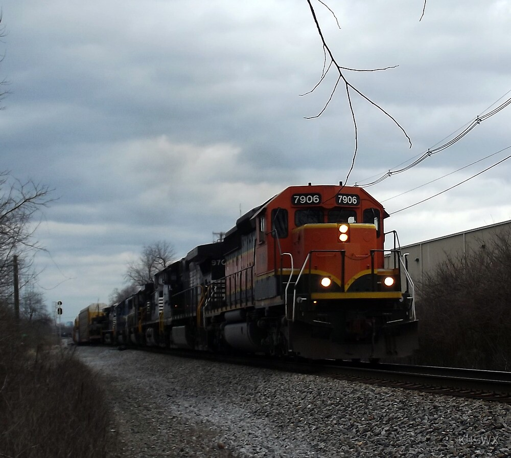 Southbound train by K4SWX